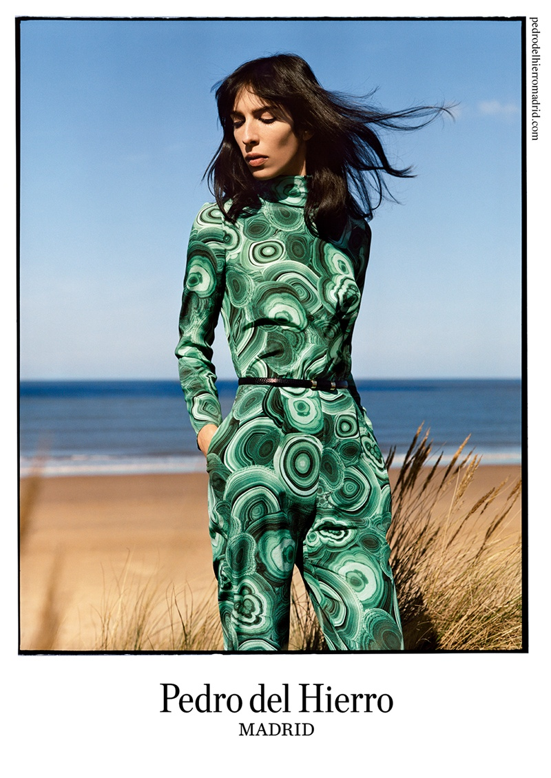 Pedro del Hierro Taps Jamie Bochert for Seaside Fall 2014 Campaign