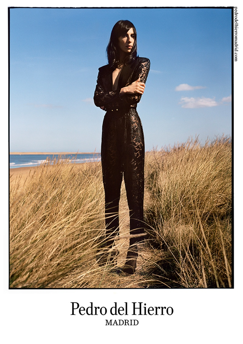pedro del hierro 2014 fall winter campaign7 Pedro del Hierro Taps Jamie Bochert for Seaside Fall 2014 Campaign