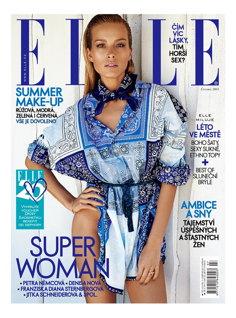 petra nemcova 2014 photos14 Petra Nemcova Stuns for Elle Czech by Branislav Simoncik