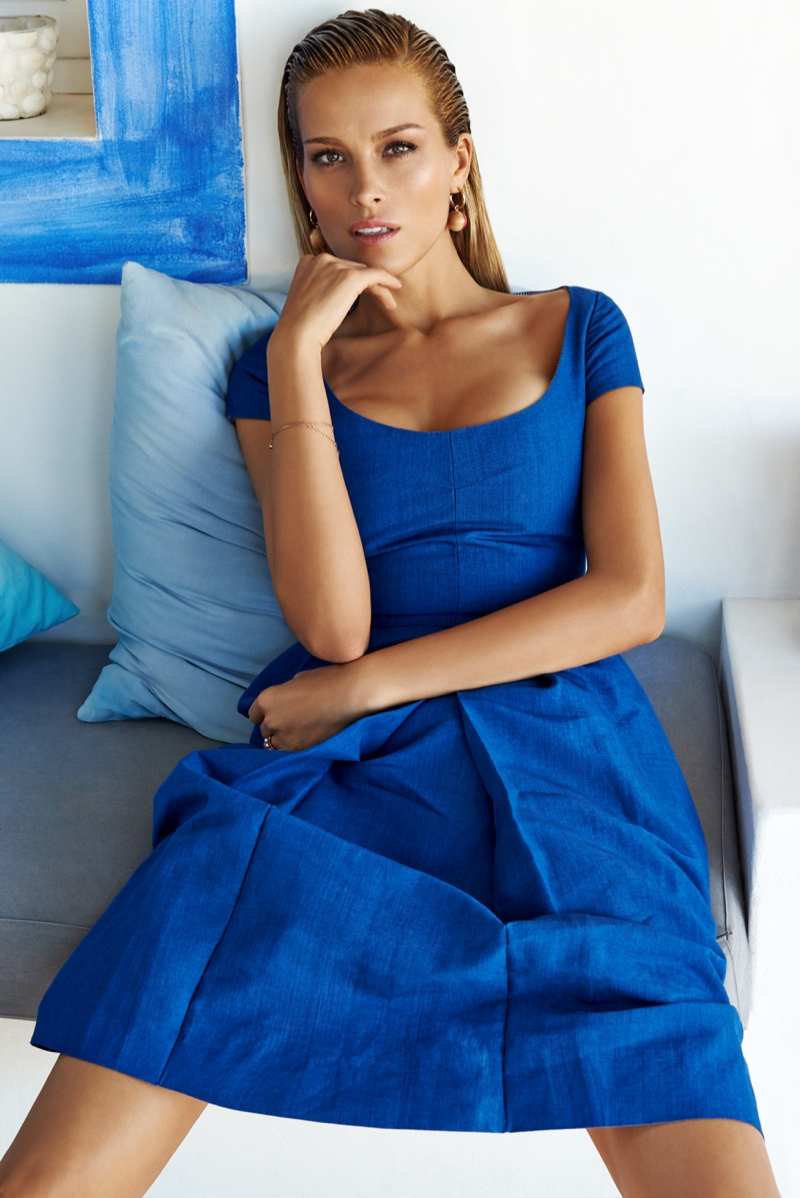 petra nemcova 2014 photos5 Petra Nemcova Stuns for Elle Czech by Branislav Simoncik