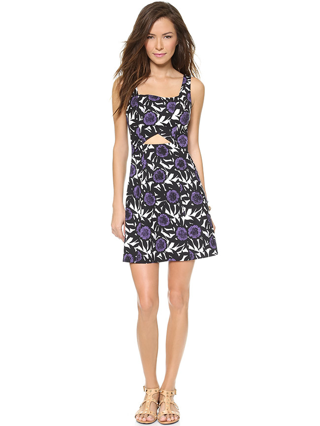 PRINTS PLEASE: Rebecca Minkoff Haw Dress available at Shopbop