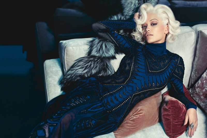 Rita Ora Fronts Roberto Cavalli Fall/Winter 2014 Campaign