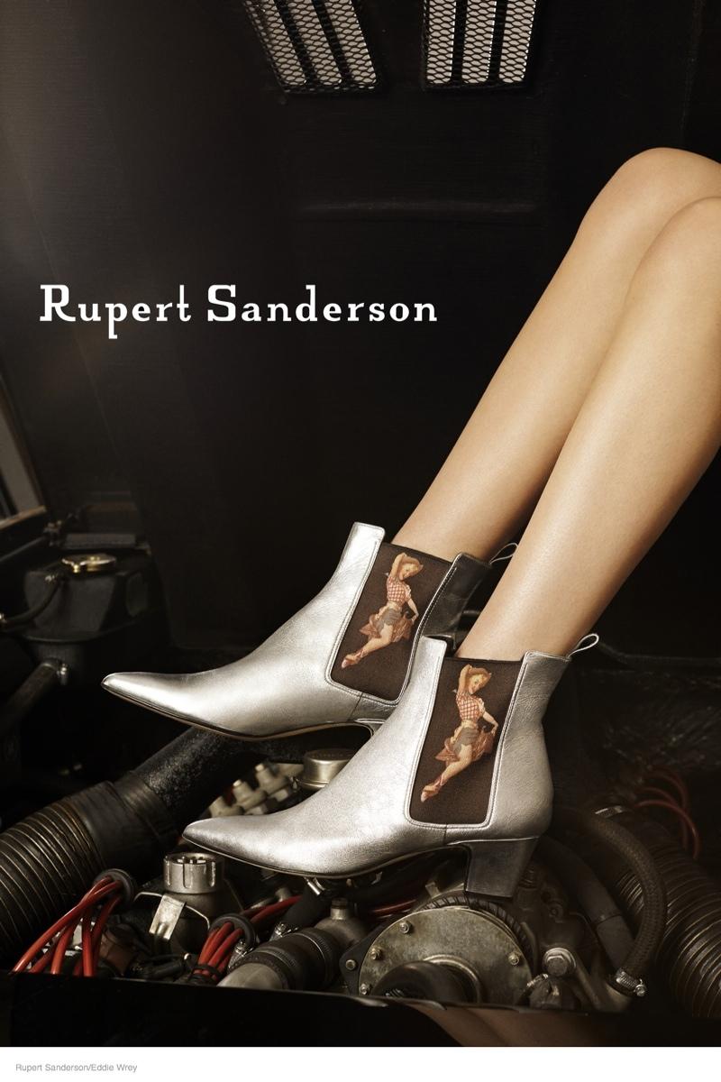 ruper sanderson 2014 fall campaign03 Rupert Sandersons Fall Ads Were Photographed in A Lamborghini