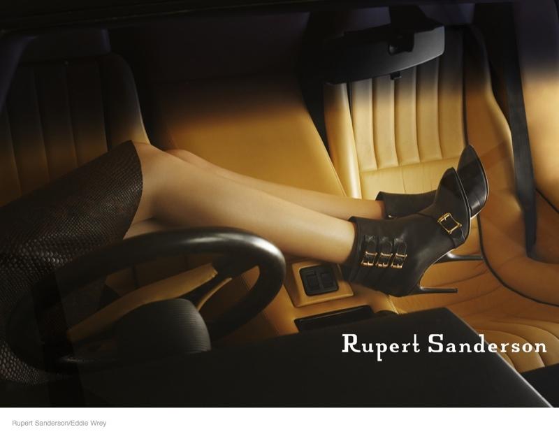 ruper sanderson 2014 fall campaign04 Rupert Sandersons Fall Ads Were Photographed in A Lamborghini