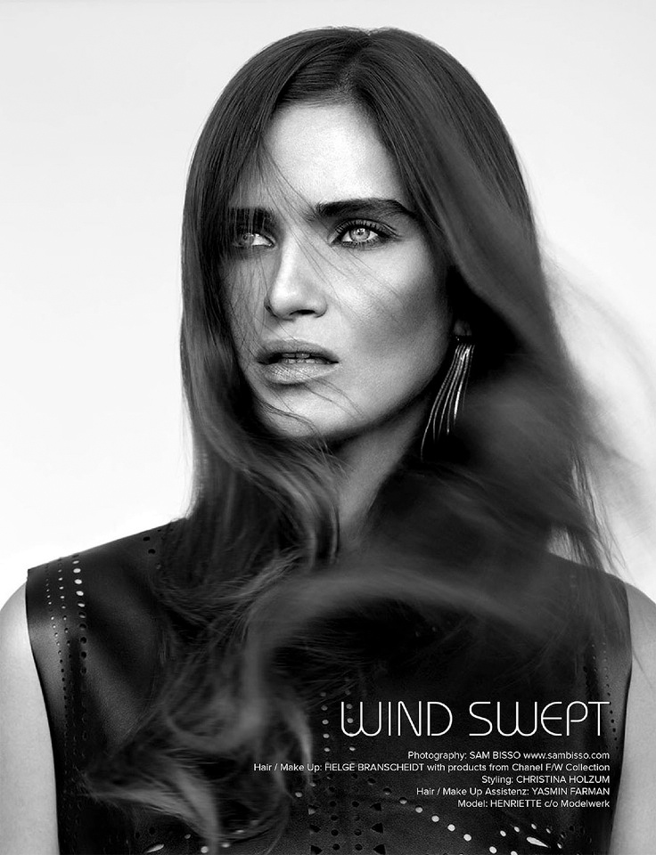 sam bisso windswept1 Wind Swept: Henriette by Sam Bisso in Kalt Blut Magazine