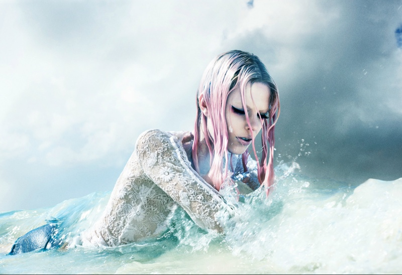 sea siren lexi boiling1 Call of the Siren: Lexi Boling by Laurie Bartley for Numero China