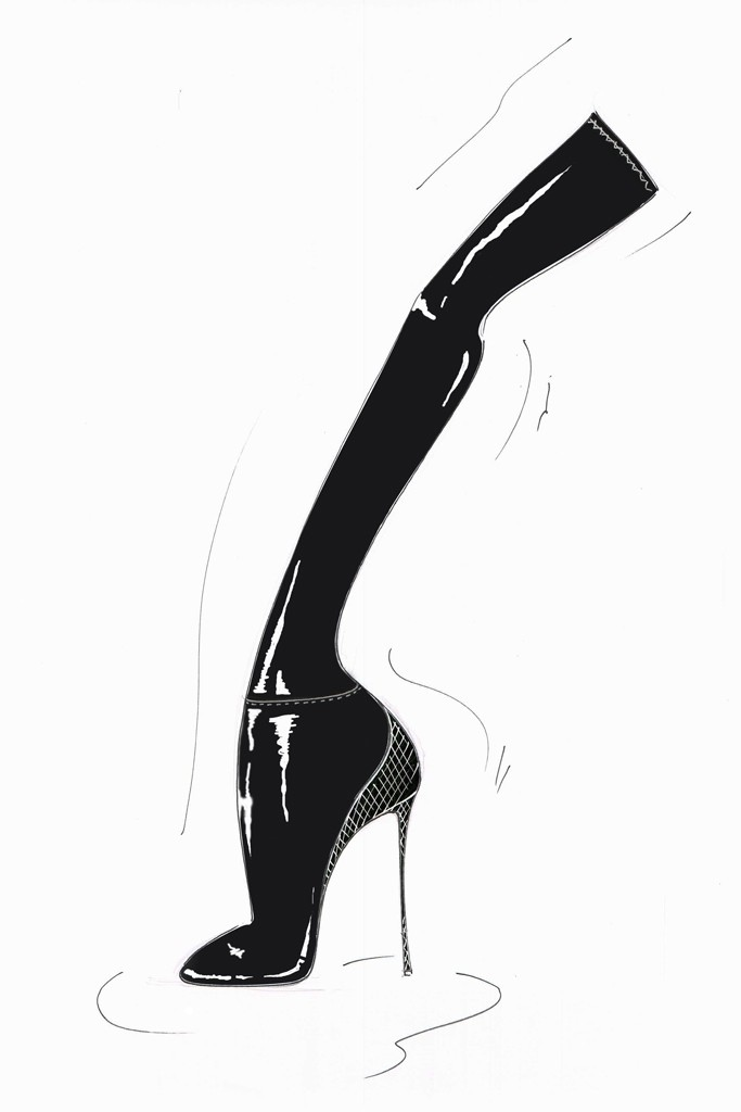 sketch olivia aquazurra2 Olivia Palermo is Linking Up with Aquazzura for New Shoe Collaboration