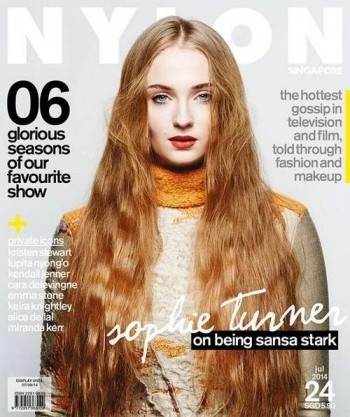 sophie-turner-nylon-singapore-2014-cover