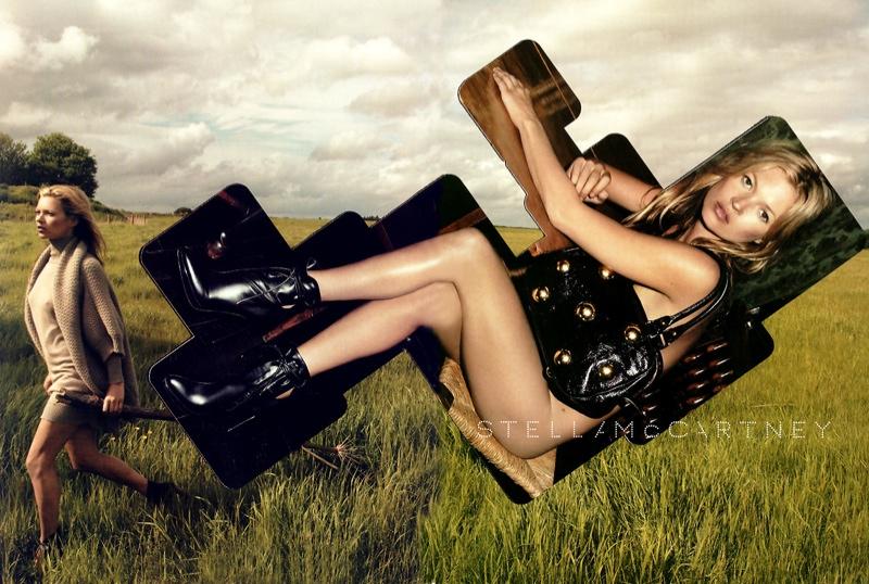 Kate Moss for Stella McCartney Fall 2006 Campaign by Inez & Vinoodh