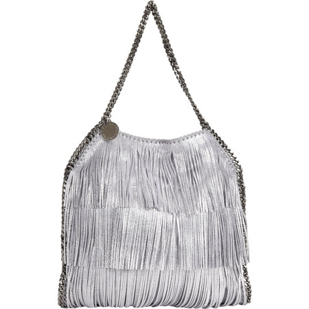 stella mccartney small fringe tote The Fall Trend Designers Love: Fringe!