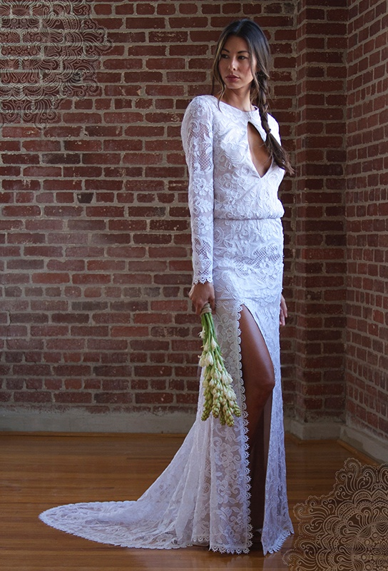 stone cold fox wedding dresses2 Chic Bride: Stone Cold Foxs Bohemian Wedding Dresses