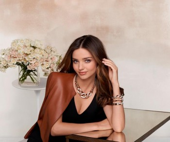 Miranda Kerr for Swarovski Fall 2014 Campaign
