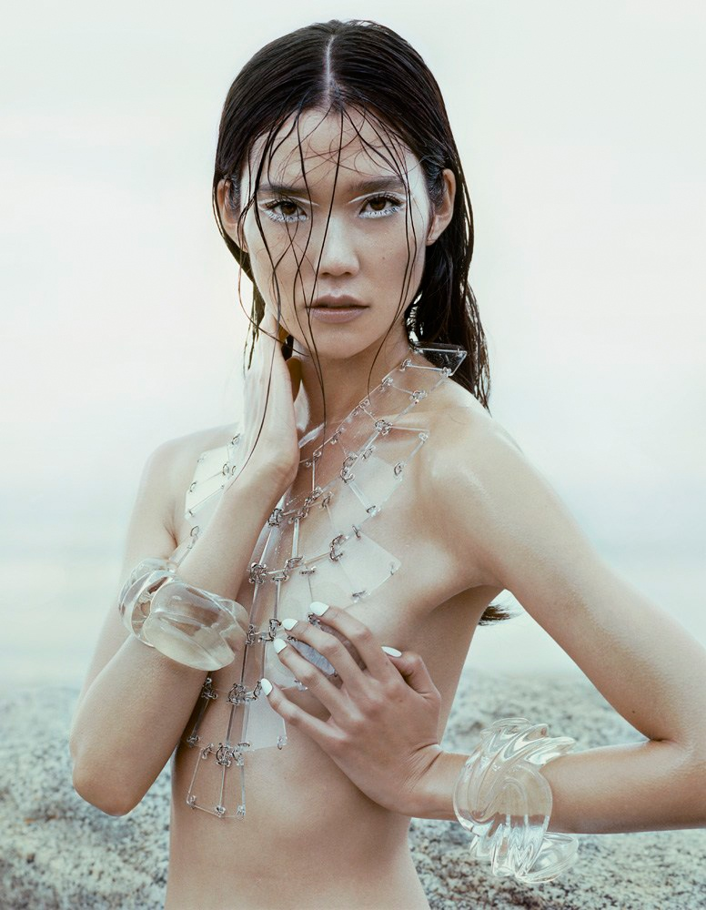 tao okamoto 2014 photos2 Tao Okamoto Stuns in Summer Beauty for Vogue China by David Slijper