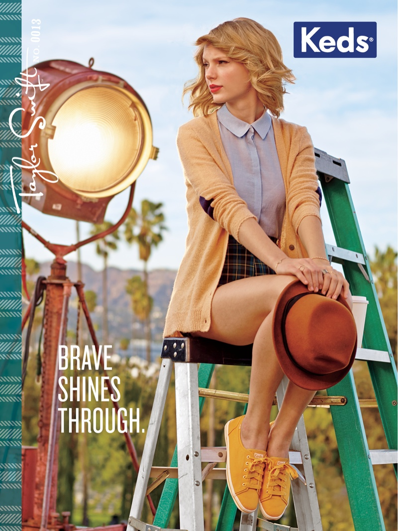 Taylor Swift is the Leading Lady of Keds' Fall 2014 Campaign