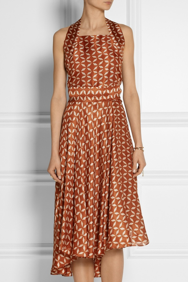 the row printed dress2 Net a Porter Final Clearance: Last Chance to Get Designer Looks on Sale