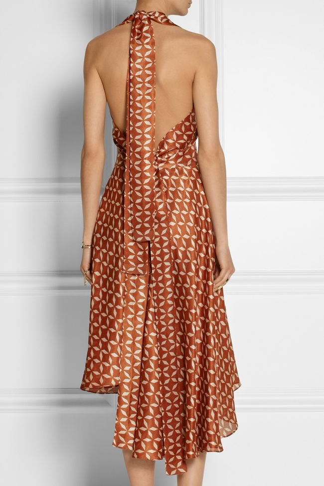 the row printed dress3 Net a Porter Final Clearance: Last Chance to Get Designer Looks on Sale