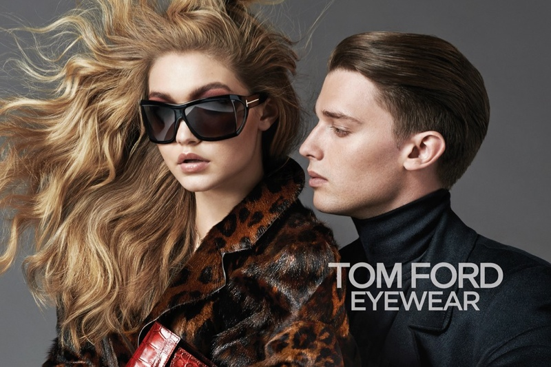 tom ford 2014 fall winter campaign1 Gigi Hadid Leads the Cast of Tom Ford's Fall 2014 Campaign