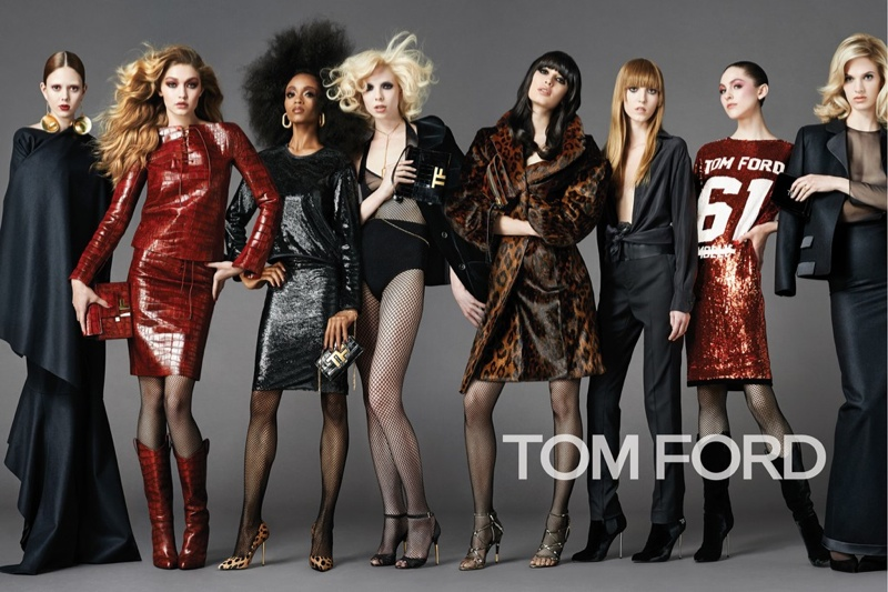 tom ford 2014 fall winter campaign2 Gigi Hadid Leads the Cast of Tom Ford's Fall 2014 Campaign