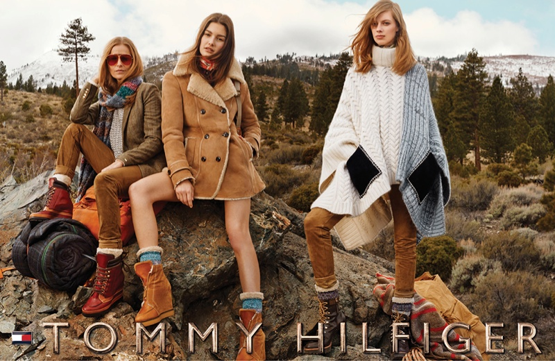 The Tommy Hilfiger Family Goes to Lake Tahoe for Fall Ads