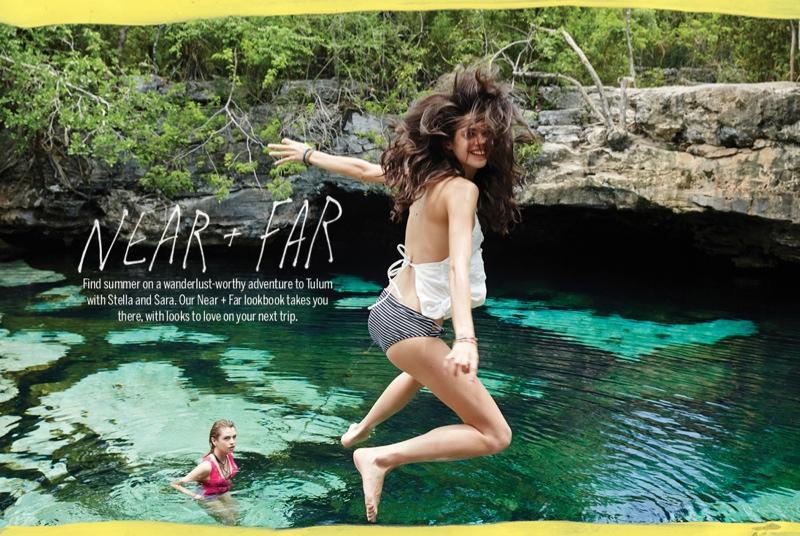 urban outfitters sara sampaio1 Sara Sampaio & Stella Maxwell Star in Urban Outfitters Near + Far Shoot