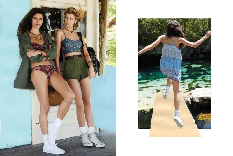 urban outfitters sara sampaio2 Sara Sampaio & Stella Maxwell Star in Urban Outfitters Near + Far Shoot