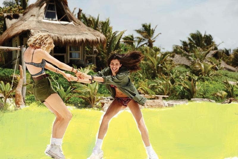 urban outfitters sara sampaio8 Sara Sampaio & Stella Maxwell Star in Urban Outfitters Near + Far Shoot