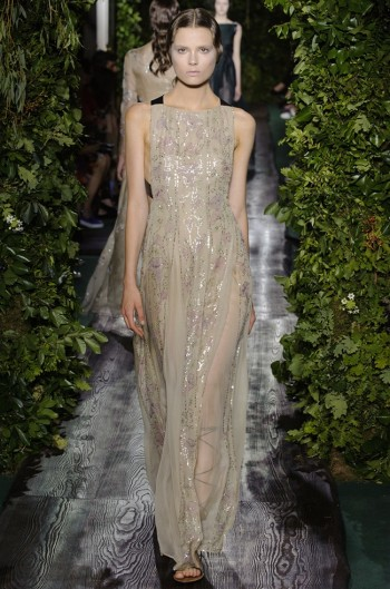 Valentino Shows Goddess Couture for Fall