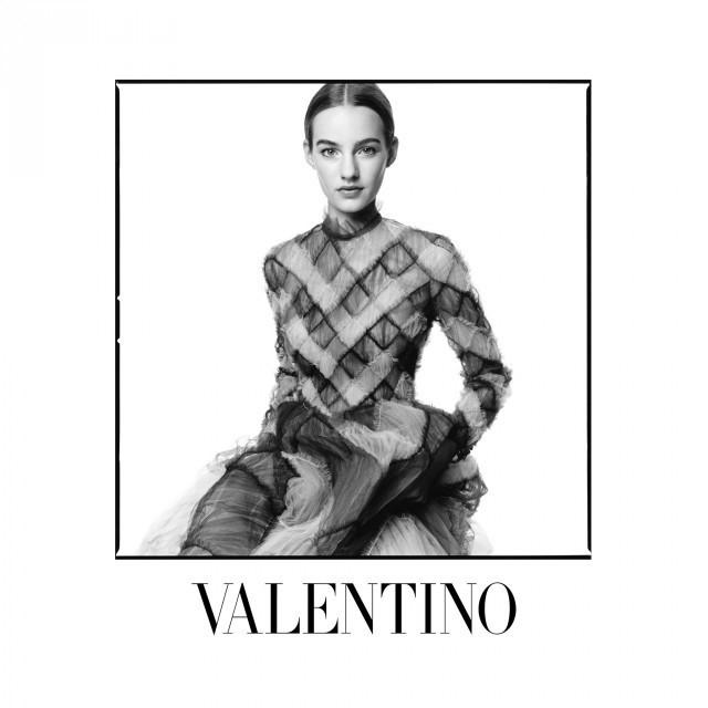 valentino 2014 fall winter campaign Valentino Taps David Bailey to Shoot Fall 2014 Campaign