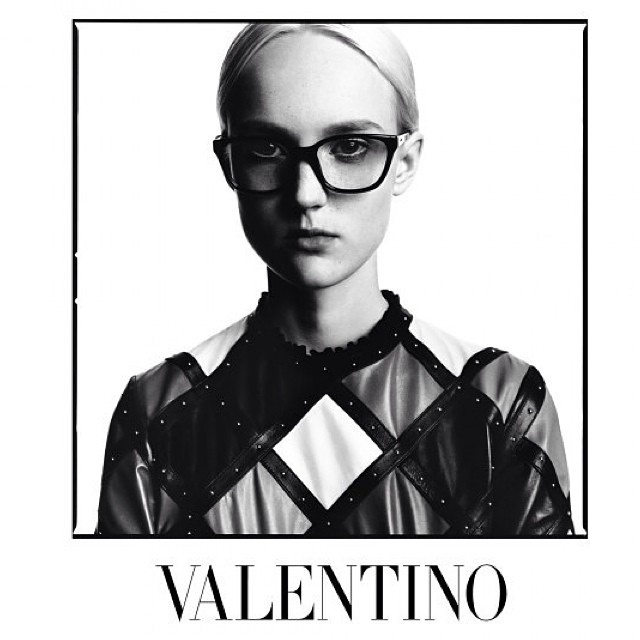 Valentino Taps David Bailey to Shoot Fall 2014 Campaign
