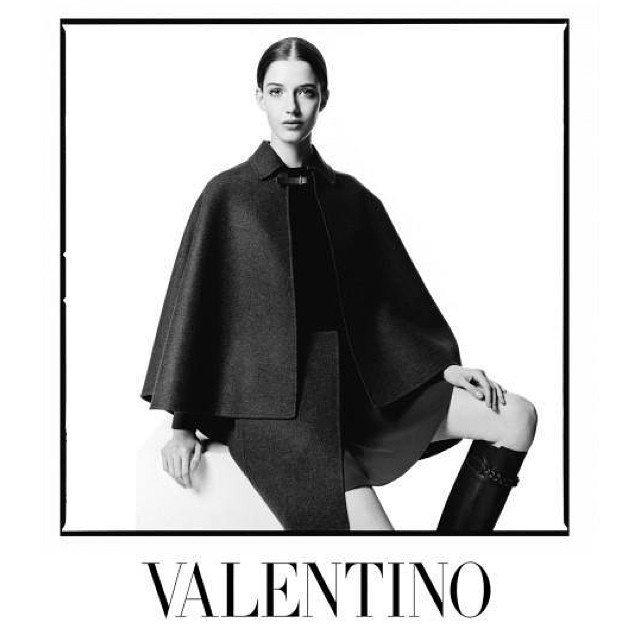 valentino 2014 fall winter campaign5 Valentino Taps David Bailey to Shoot Fall 2014 Campaign