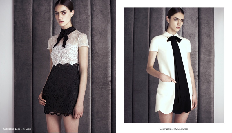 Marine Deleeuw Models Valentino Pre-Fall for Barneys