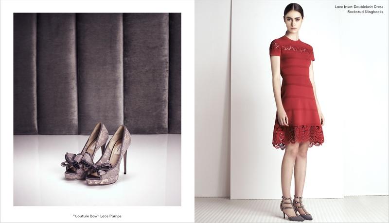 valentino barneys pre fall 5 Marine Deleeuw Models Valentino Pre Fall for Barneys