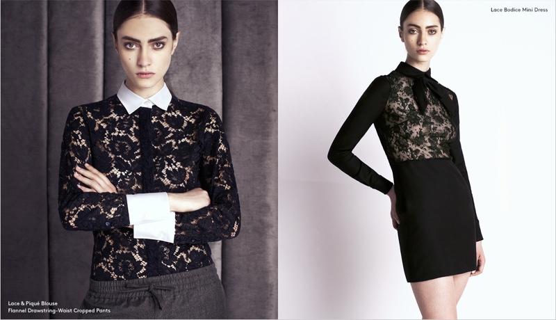 valentino barneys pre fall 6 Marine Deleeuw Models Valentino Pre Fall for Barneys