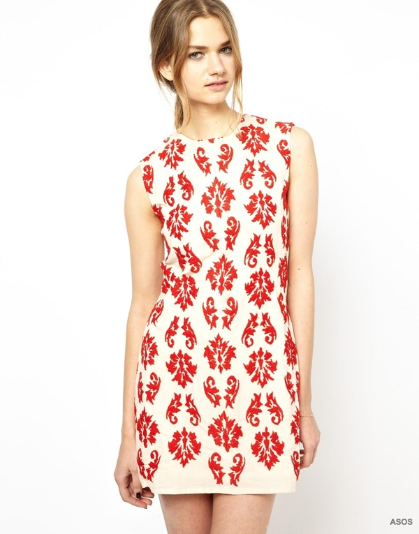 Vanessa Bruno Athe Dress with Paisley Embroidery available at ASOS for $268.66