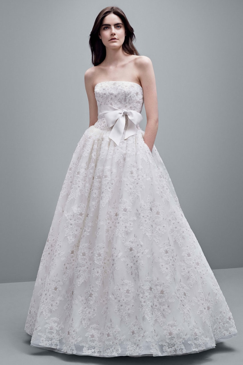 vera wang fall 2014 bridal dresses6 White by Vera Wangs Enchanting Fall 2014 Wedding Dresses