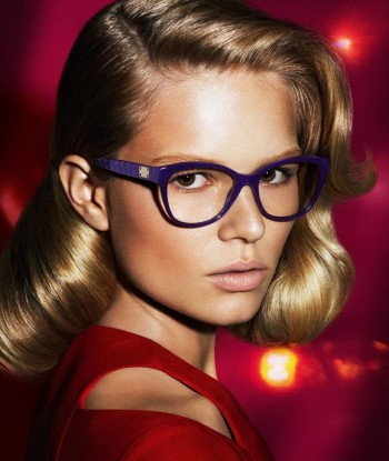 Anna Ewers + Stella Tennant in Additional Versace Fall 2014 Ads