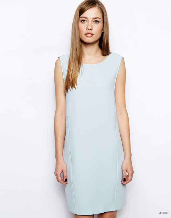 Whistles Shift Dress in Crepe available at ASOS for $219.12