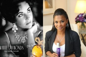 Nia Long Named the New Face of Elizabeth Taylor White Diamonds Lustre Perfume
