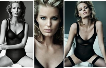 Mario Testino Shoots Wolford's Sexy Fall Ads Starring Caroline Winberg
