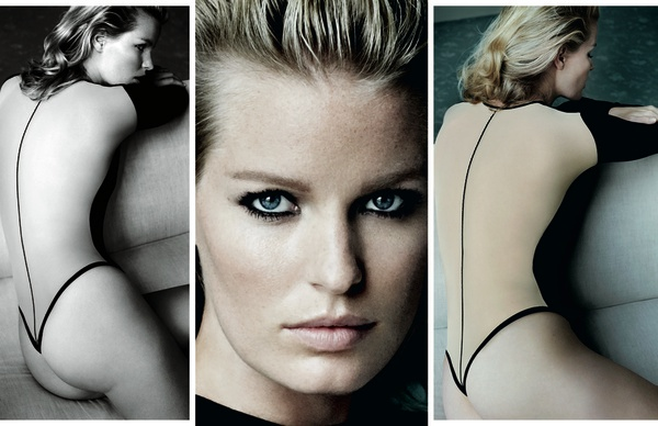 wolford mario testino fall 2014 campaign2 Mario Testino Shoots Wolfords Sexy Fall Ads Starring Caroline Winberg