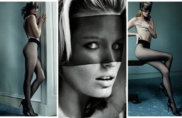 wolford mario testino fall 2014 campaign4 Mario Testino Shoots Wolfords Sexy Fall Ads Starring Caroline Winberg