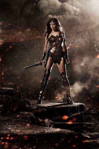 "See Gal Gadot's Wonder Woman Costume for ""Batman vs. Superman"""