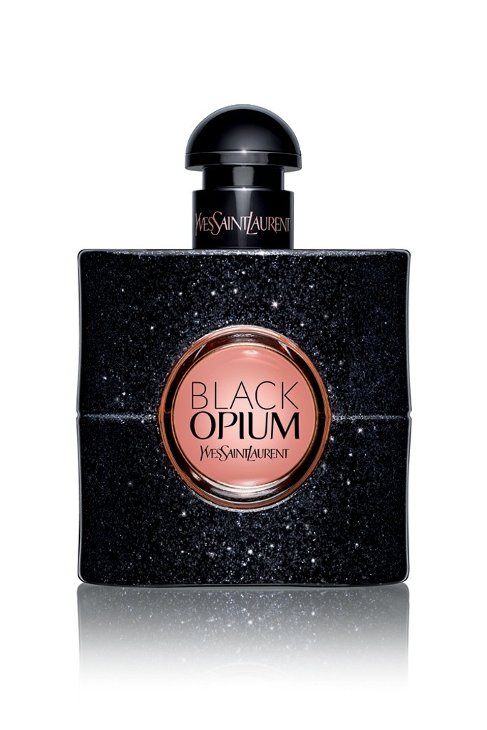 ysl black opium fragrance 20143 Edie Campbell to Front YSL Black Opium Fragrance