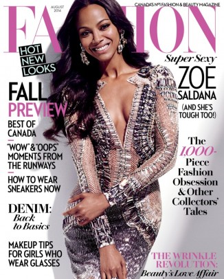 zoe saldana fashion magazine2 326x406