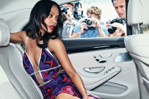 Zoe Saldana Poses for Marie Claire, Talks Relationships