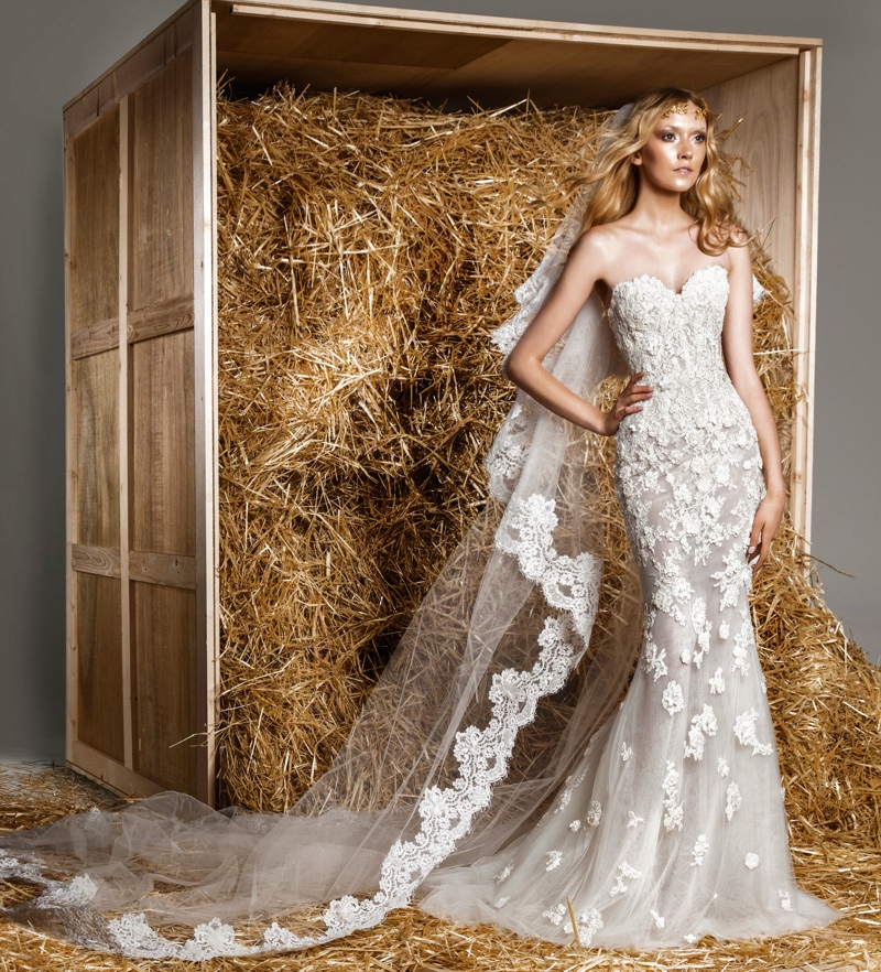 zuhair murad 2015 bridal photos13 Zuhair Murad Presents a Modern Fairytale for Spring 2015 Bridal Collection