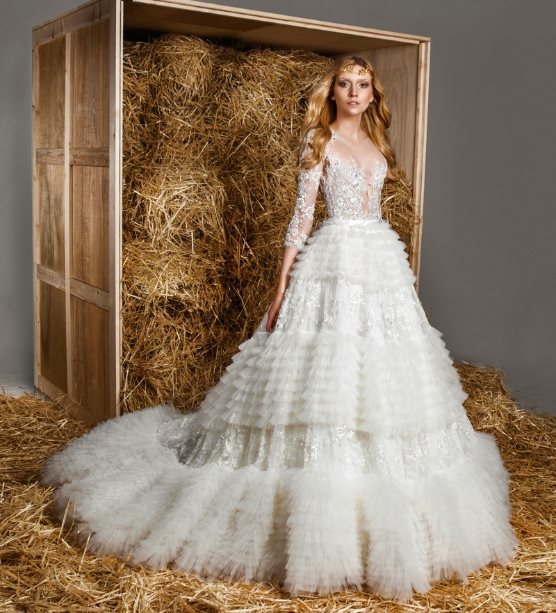 Embroidered Mexican Wedding Dress 90 Amazing zuhair murad bridal photos