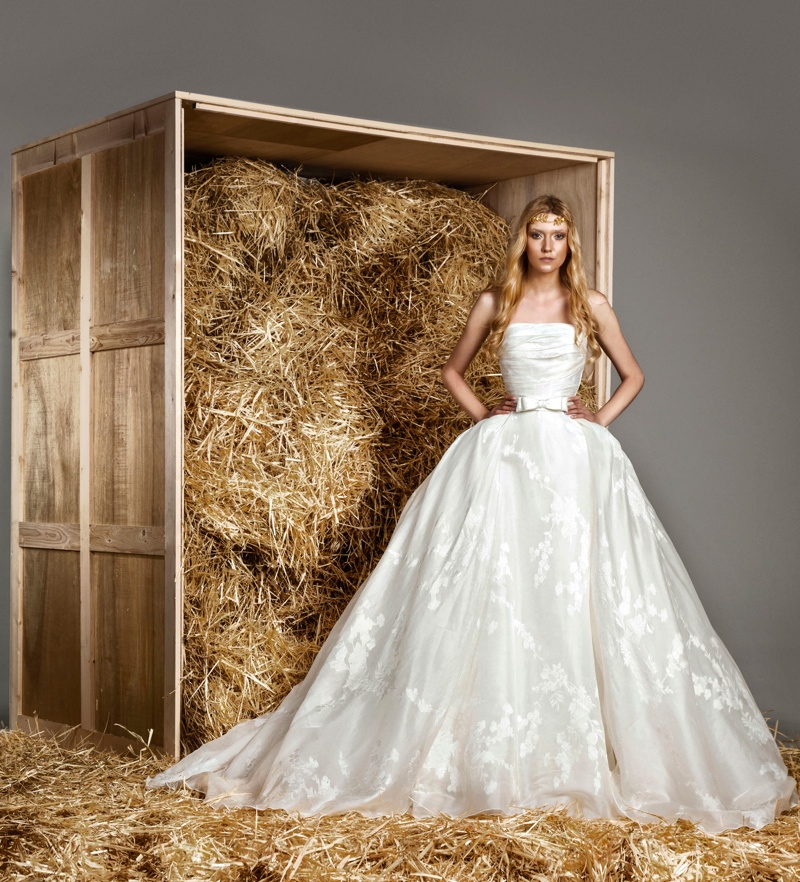 Spring Wedding Dresses: Zuhair Murad 2015 Spring Bridal Photos
