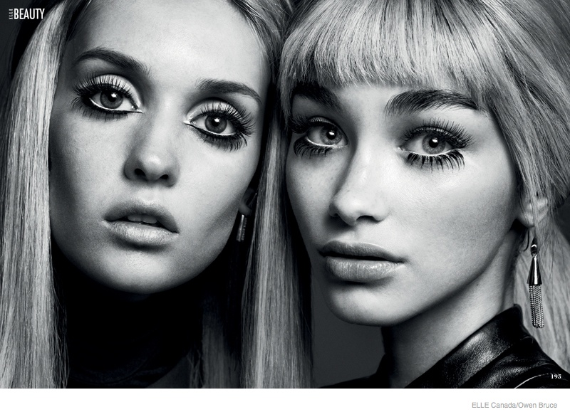 "Elle Canada Spotlights 60s Makeup Trends for ""My Generation"""