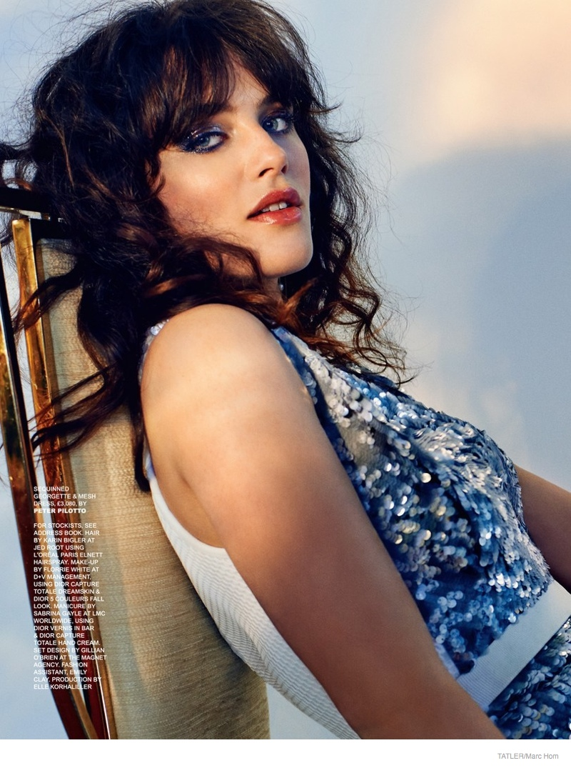 Jessica Brown Findlay Photoshoot03 Downtown Abbey Star Jessica Brown Findlay Poses for Marc Hom in Tatler Shoot